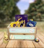 Personalised Wooden Easter Crate - Design 3