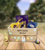 Personalised Wooden Easter Crate - Design 7