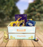 Personalised Wooden Easter Crate - Design 8