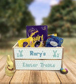 Personalised Wooden Easter Crate - Design 4