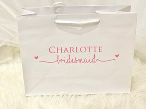 Gloss Personalised Wedding Gift Bag