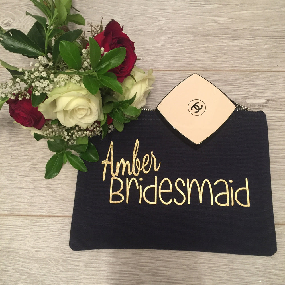 Bridesmaid, Maid of Honour etc Make Up Bag