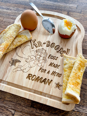 Super Hero Egg Board
