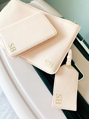 Monogrammed Boutique Complete Travel Set
