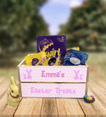 Personalised Wooden Easter Crate - Design 6