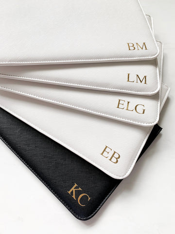 Monogrammed Boutique Clutch Bag