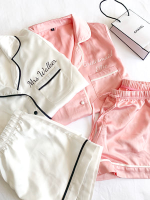 Luxe Short Piped Pyjamas