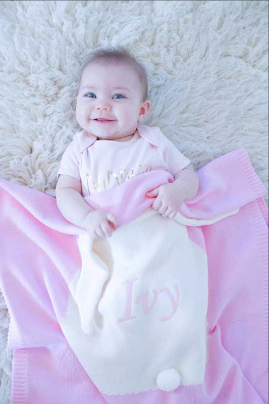 Personalised Bunny Blanket
