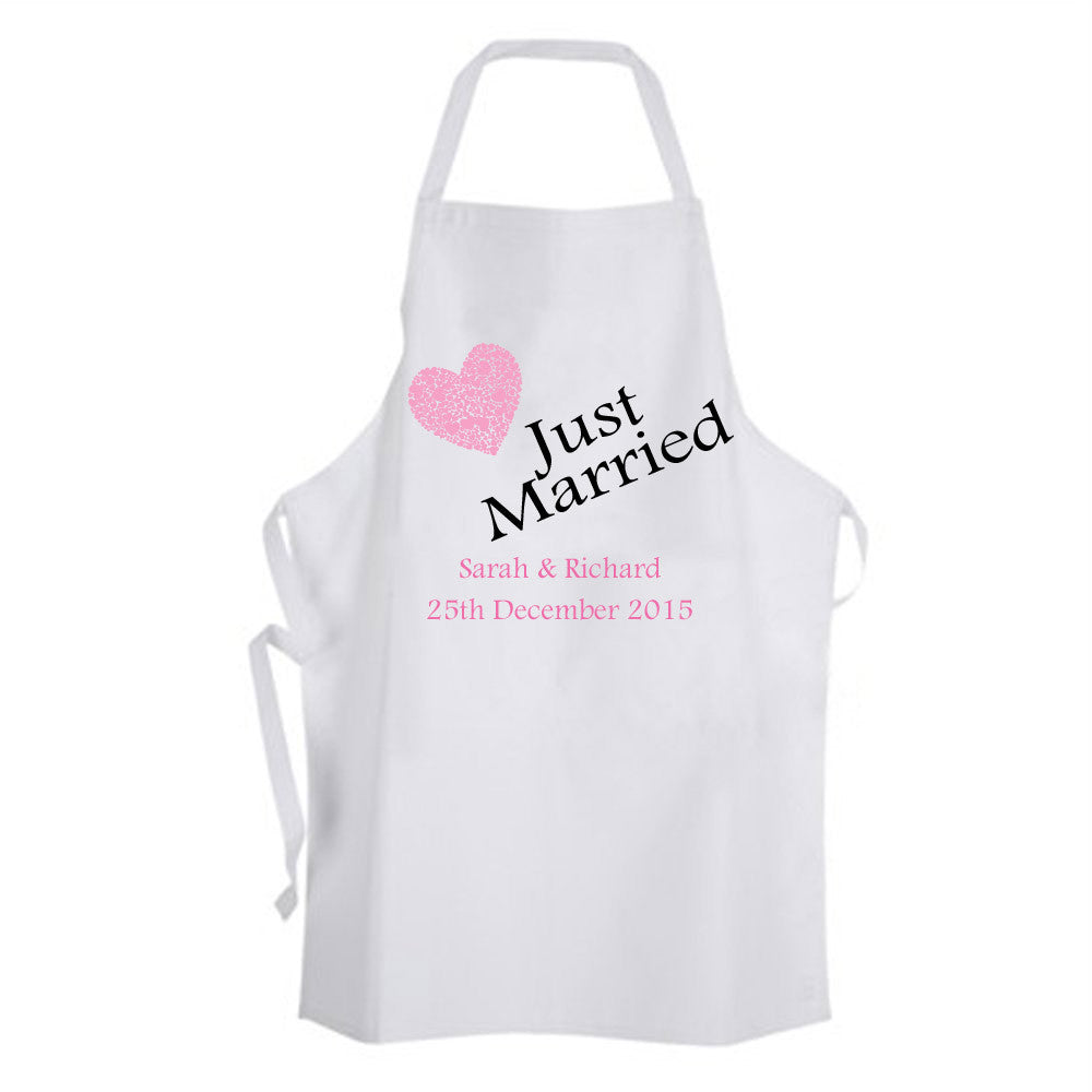 Wedding Apron - Just Married