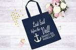Last Sail Before The Veil Personalised Tote Bag