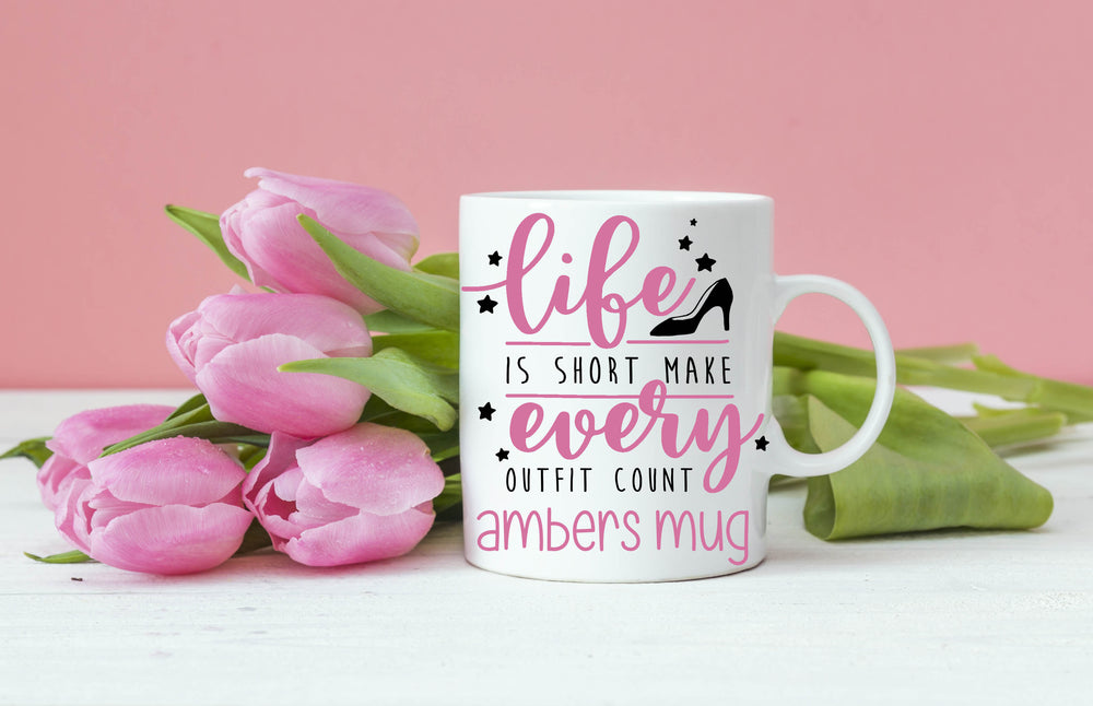 Wear That Outfit Personalised Sarcastic Mug