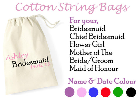 Gift String Bags