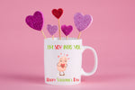 I'm SOY into you Valentines Mug