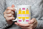 Personalised Pencil Design Mug