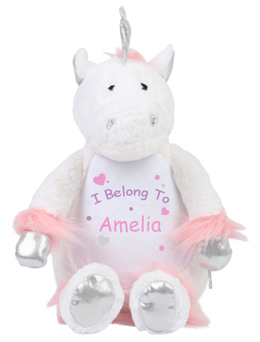 u0027I Belong Tou0027 Personalised Unicorn. u0027  sc 1 st  Pretty N Personal & Soft Toys and Storage u2013 Pretty N Personal