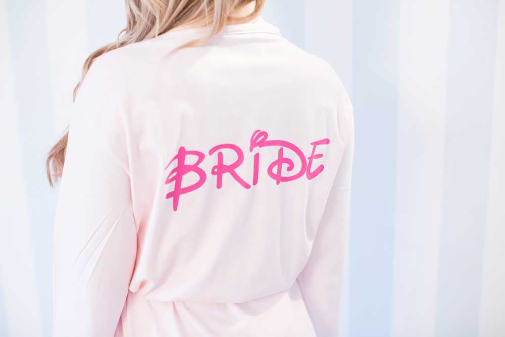Walt Cotton Personalised Wedding Robe