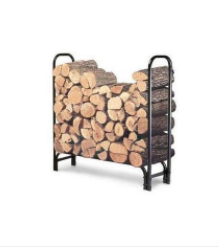4 Foot Firewood Rack