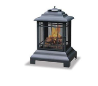 Uniflame Outdoor Firehouse-Black