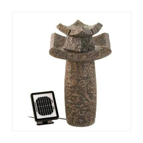 Temple Solar Water Fountain (pack of 1 EA)