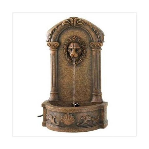 Lion`s Head Courtyard Fountain (pack of 1 EA)