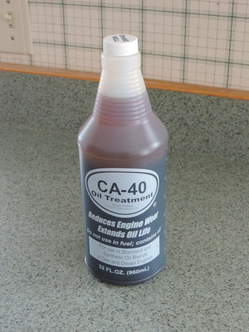 oil 1 qt  CA-40 Oil Additive