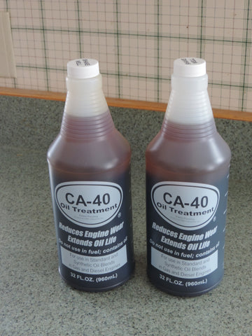 Oil Treatment  12 qt case CA-40 Oil Treatment