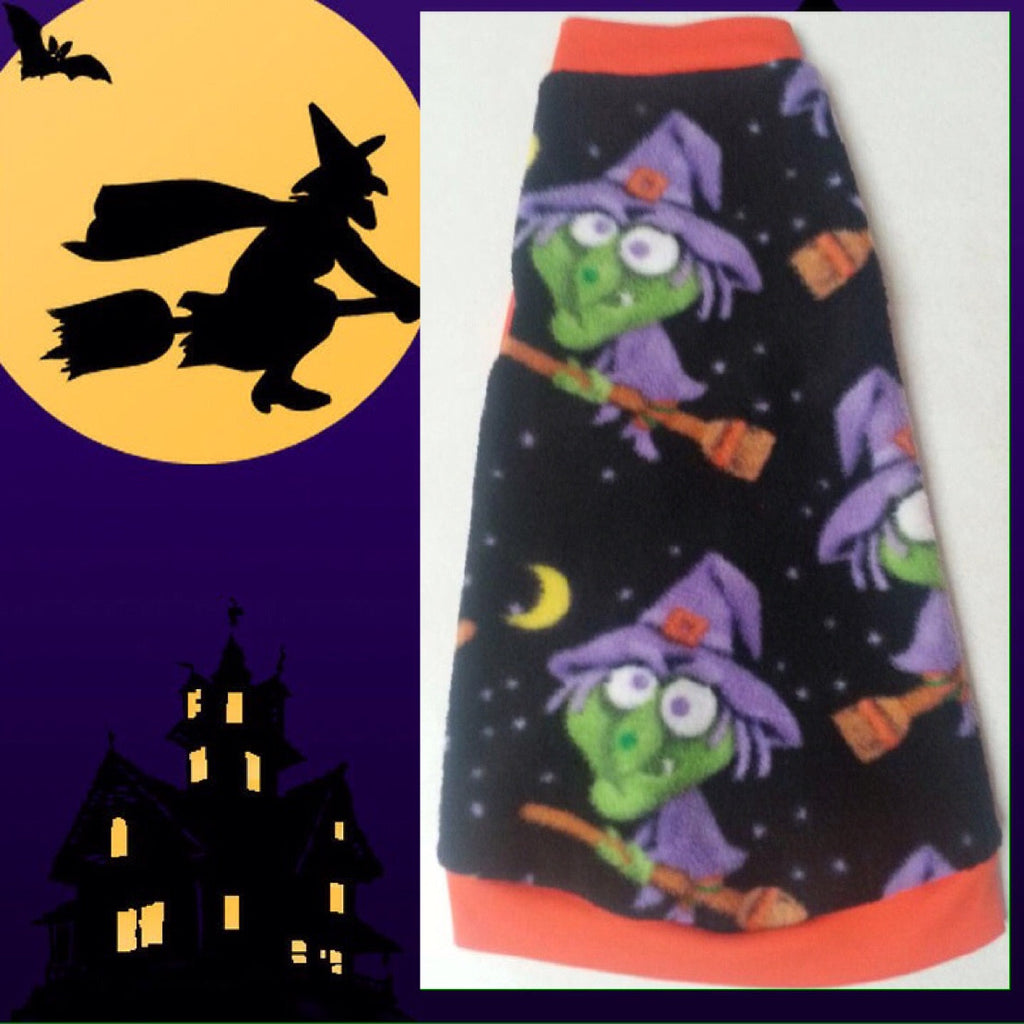 "Witches Halloween Fleece ""Being Witchy"" - Nudie Patooties"