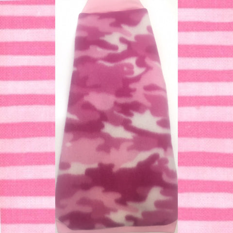 "Pink Camo Fleece ""Bullseye"" - Nudie Patooties"