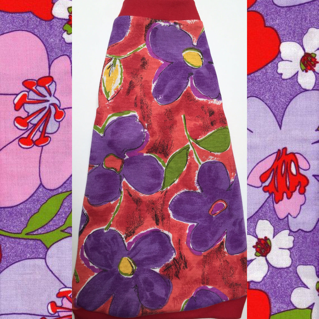 Red and Purple Flower - Nudie Patooties
