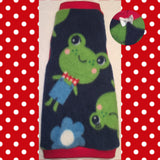 "Frog Fleece ""Feeling Froggy"" - Nudie Patooties"