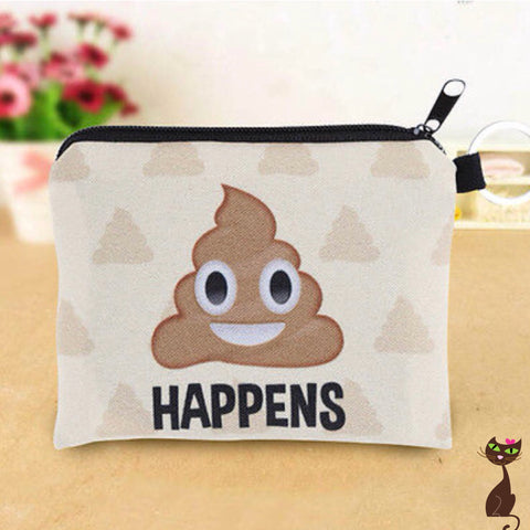 Poop Happens Small Clutch - Nudie Patooties