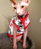 Little Lizards, 100% cotton tshirt for your sphynx cat, bambino, devon rex, cornish rex, Peterbald cat! Sphynx clothes. Cat Clothes. Sphynx kitten clothes.