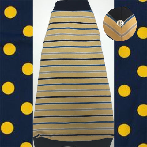 Navy and Yellow Stripe - Nudie Patooties