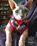 Black Tattoo - Nudie Patooties  Sphynx cat clothes for your sphynx cat, sphynx kitten, Donskoy, Bambino Cat, cornish rex, peterbald and devon rex cat.