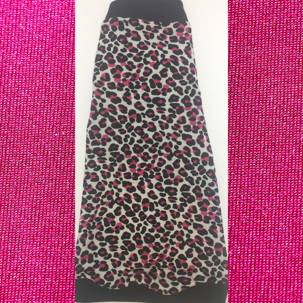 Pink and Black Leopard - Nudie Patooties