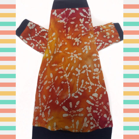 Long Sleeve Bold Batik