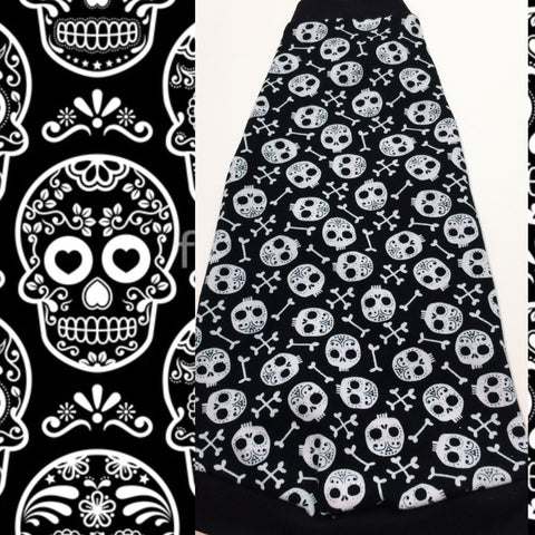 Black Skulls - Nudie Patooties  Sphynx cat clothes for your sphynx cat, sphynx kitten, Donskoy, Bambino Cat, cornish rex, peterbald and devon rex cat.