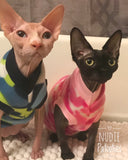 camo/ Sphynx Cat Fleece Clothes / clothes for cats/ cat overalls /cat shirt/ cat sweater/ cat sweatshirt/ pet sweater/ Sphynx cat clothes/ Sphynx clothing / cats clothes/ shirt for cat/ cat clothes/ tattoo/ skull/ designer cat clothes/ cat pjs