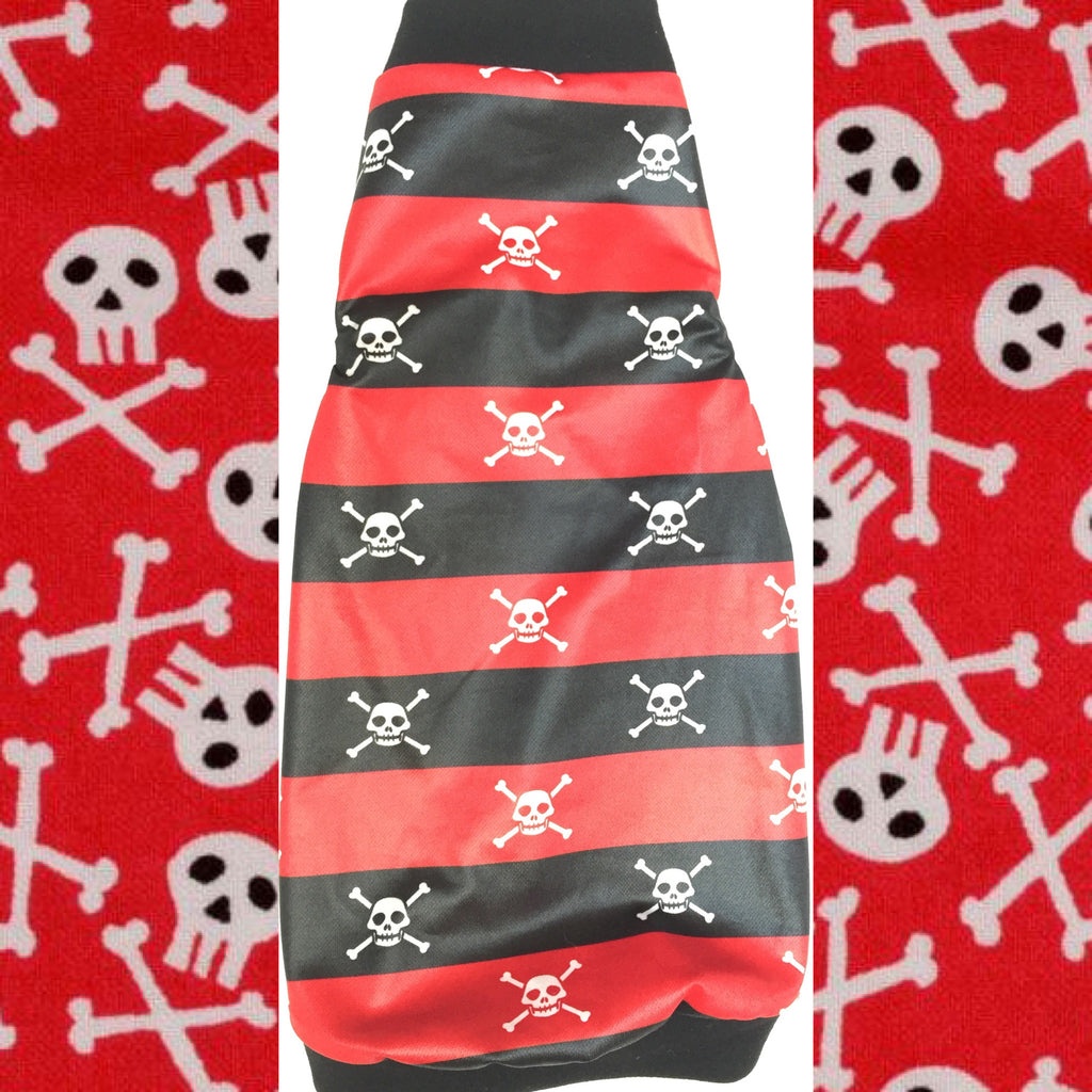 Red and Black Skulls - Nudie Patooties