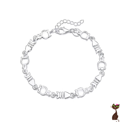 Silver Cat Fish Bracelet - Nudie Patooties