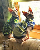"Navy and Lime Green Flower Fleece ""Brightly Blooming"" - Nudie Patooties"