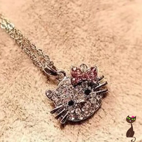 Cat Necklace with Bow - Nudie Patooties  Sphynx cat clothes for your sphynx cat, sphynx kitten, Donskoy, Bambino Cat, cornish rex, peterbald and devon rex cat.