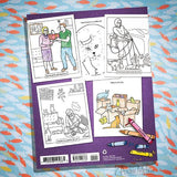 Crazy Cat Lady Coloring Book - Nudie Patooties