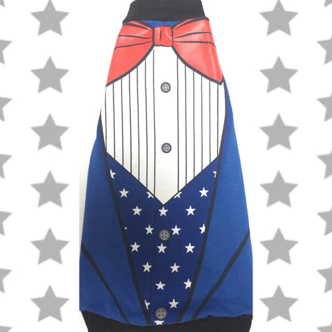 Red White and Blue Fancy - Nudie Patooties