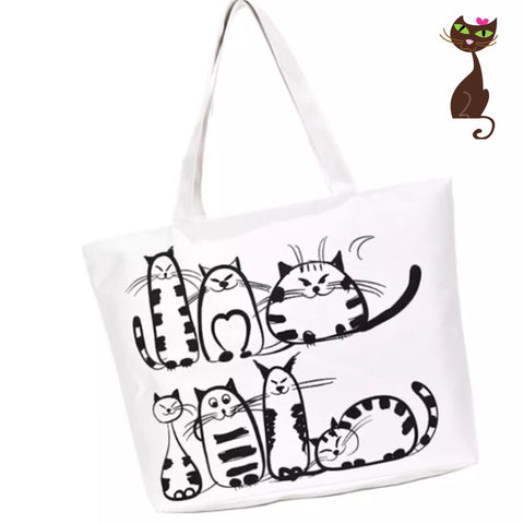 Cat Tote - Nudie Patooties