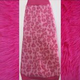"Pink Leopard Fleece ""Venus"" - Nudie Patooties"