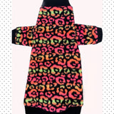 "Neon Leopard Long Sleeve Microfleece ""Spot On"""