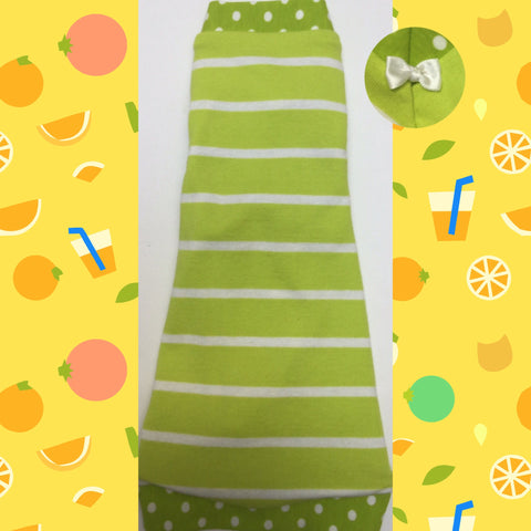 Lime and White Stripe - Nudie Patooties