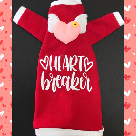 Long Sleeve Heart Breaker Sweatshirt