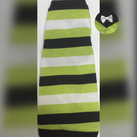 Green, White, and Black Stripe - Nudie Patooties